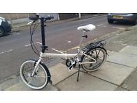 Carrera folding bike