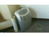 ( WORKS LIKE NEW ) Very Powerful Remote Control Air Conditioner Dehumidifier/Fan + Vent Pipe