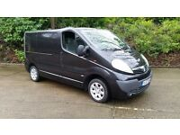 Vauxhall Vivaro Black Sportive CDTI SWB Panel Van 1 Year MOT Alloy wheels