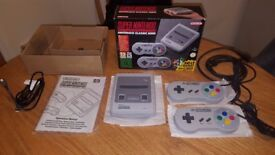 Super Nintendo SNES Classic Mini - 250+ games - VERY SPECIAL - Immaculate!
