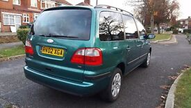 Ford Galaxy MPV 1.9 TDi Zetec 5dr. Manual/Diesel.