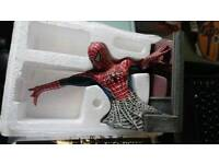Complete limited edition spiderman set of busts. All boxed and perfect conditon