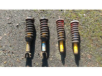 Honda Civic EG Gmax Supersport Suspension B16 B18 K20 H22 VTEC Engine SiR VTI LSI ESI Coilovers