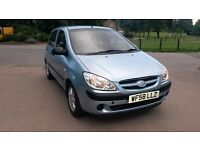 2008; 58 reg Hyundai Getz facelift 1.1 5DR MOT TAX Cheap insurance