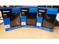 1TB Maxtor M3 External Portable USB 3.0 Hard Drive New