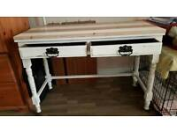 Small console table 40x18x29