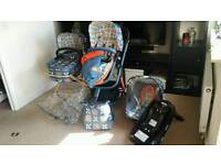 Cosatto Giggle 2 Travel System with Isofix Base
