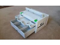 Festool 491522 SYS 3-SORT/4 4 Drawer Systainer Sortainer