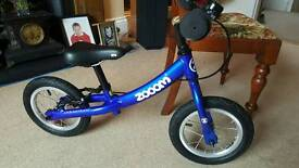 Beautiful Blue Zooom Balance Bike