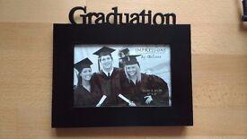 Black Photo Frame for Graduation Photo