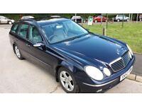 Mercedes E320 CDi Avantgarde Estate 2004 82800 miles