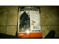 Scruffs L Rain Suit never been used brand new