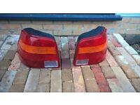 VW Golf MK4 Rear light lenses