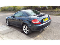 MERCEDES SLK 350 CONVERTIBLE AUTOMATIC 57 PLATE WITH HEAD SCARF FULL MERCEDES HISTORY IMMACULATE