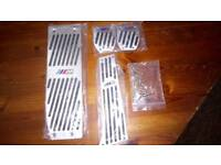 BMW MSport pedal covers
