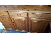 Ducal pine sideboard