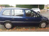 Vauxhall Zafira Life 2005 (54) 7 seater BARGAIN