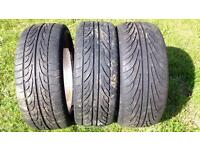 "17"" part worn tyres 205/40, £10 per tyre or 3 for £25."