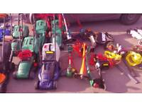 Garden tools lawn mowers grass trimmers hedge trimmers chain saw