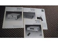 Vintage Technics Separates