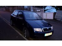 Skoda Fabia 1.4 2002, very clean, drives like new, mot till November 2017, 79450 miles 2 owners