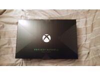 Xbox one X project scorpio edition 1TB STILL SEALED