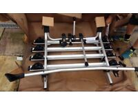 VW TRANSPORTER T6 OE THULE TAILGATE 4 BICYCLE HOLDER RACK