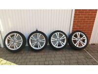 BMW original wheels with Continental winter tires