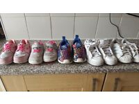 Girls designer shoes and trainers size 7