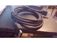 x2 HDMI CABLE new