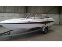 Speed Boat. Campion Allante 485SD. BRAND NEW! 60HP Mercury. New Galvanised trailer included.