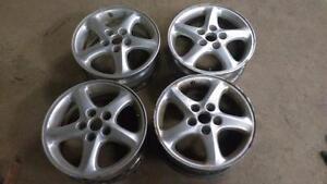 16 inch wheels - aluminum alloy rims