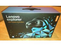 LENOVO Explorer Mixed Reality Headset & Controllers !! NEW ONE !!