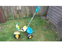 Pushalong toddler tricycle