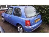 Nissan Micra 2000. 11 months MOT.