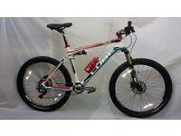 Cube ams 100 super hpc full CARBON /FOX suspension. Mountain bike hybrid bicycle