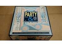 Vintage rare 1998 Diset Party & Co Board Game Art Deco unused