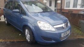 Vauxhall Zafira 1.6 i 16v Exclusiv 5dr Petrol