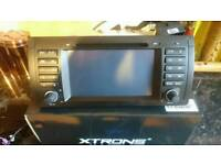 Xtrons BMW X5 stereo