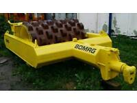 BOMAG BW6 S PADFOOT. 6TON TOWED VIBRATORY ROLLER