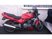 Kawasaki ER-5, 33,000 miles, 12 months MOT