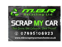 MBR Recycling Ltd!!! Scrap my Car Manchester!!! Best prices Paid for your old Vehicles!!! Scrap Yard