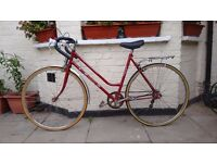 Vintage 5 speed ladies bike