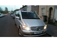 (63 Reg) Mercedes-Benz Viano 3.0 CDI Ambiente,8 Seater,Extra Long,FDSH,HPI Clear,Excellent Condition