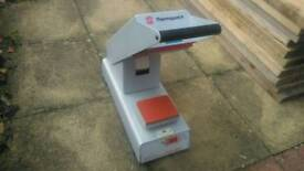 Thermopatch HS4C compact heat press around £1000 rrp