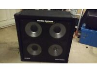Hartke 4x10 bass cabinet for sale