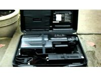 Panasonic M7 VHS Vintage Retro Camcorder - Working, new battery, case