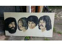 Painting Of The Beatles