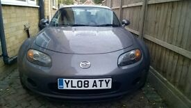 Mazda MX-5 1.8 Good condition (Foldable Hardtop roof) Metallic Grey
