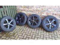Winter Wheels on Alloys